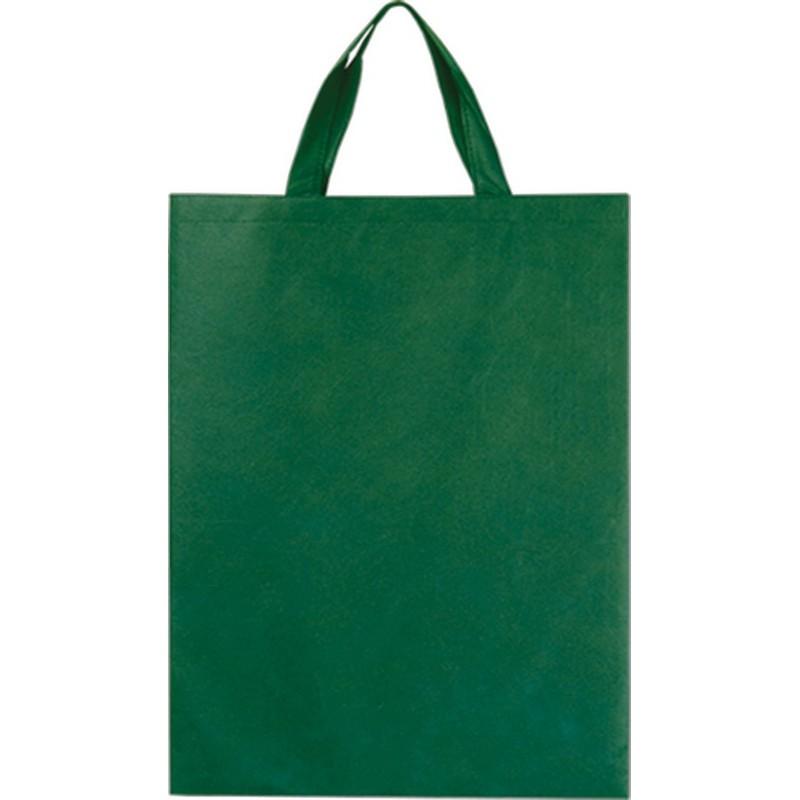 5ae96ae2b521 Τσάντα πάνινη θαλάσσης Β 2539 Πράσινο