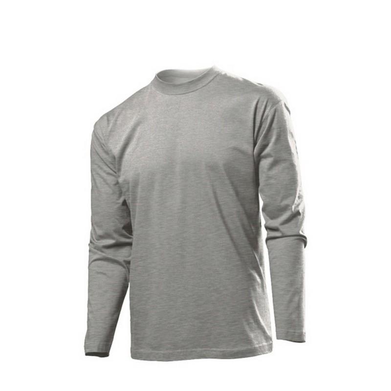 Μπλούζα ανδρική μακρυμάνικη B ST2500 Γκρι c41f11a7eb2