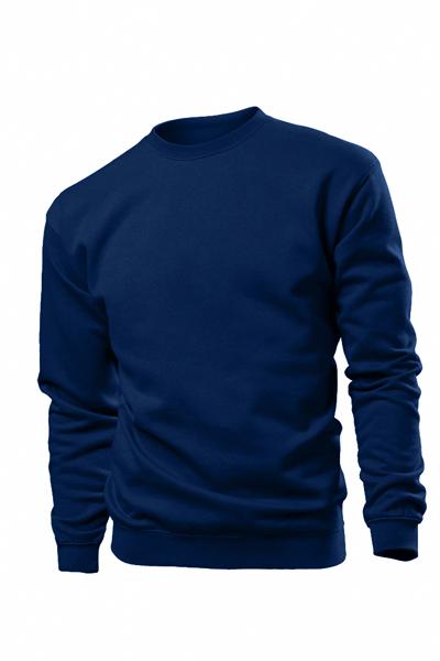 930155c4bfea Φούτερ ανδρικό Β ST 4000A μπλε σκούρο(midnight)