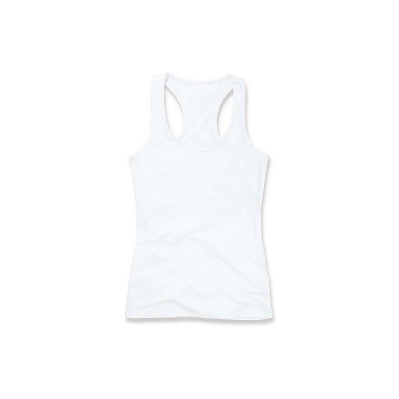 725f8e886d76 Μπλούζα γυναικεία με τιράντα B ST8540 Λευκό
