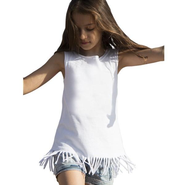 9d1a9ddbe596 Αμάνική παιδική μπλούζα με κρόσια LI 550