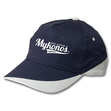 Καπέλο jockey 5φυλλο - Μ 5404